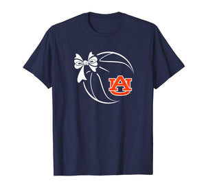 Auburn Tigers Basketball Ribbon T-Shirt - Apparel