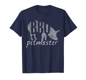 BBQ Pitmaster T Shirt, Pig Grilling Grill Father's Day Gift