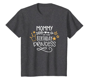Mommy Of The Birthday Princess Mom Shirt For Birthday Party