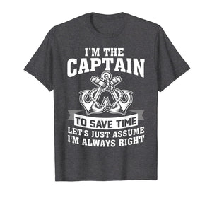 Captain Of The Boat Shirts