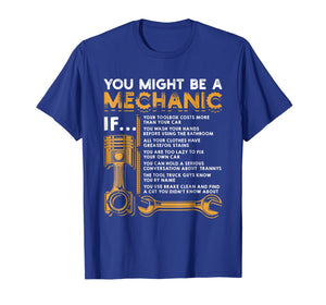 You Might Be A Mechanic If T-Shirt Funny Mechanic Gifts-120573