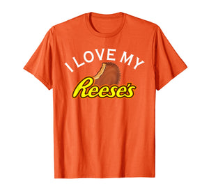 I Love My Reese's T-Shirt