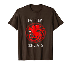 Mens The Catfather Funny Shirt Cat Dad Lover Gift T-Shirt