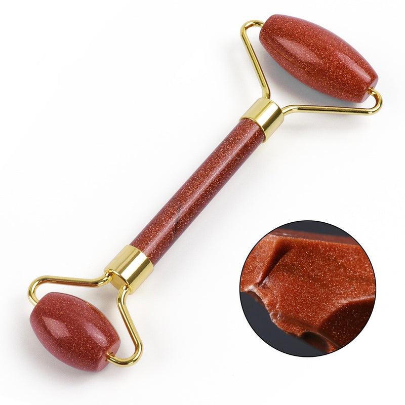 Natural Golden Sand Facial Roller