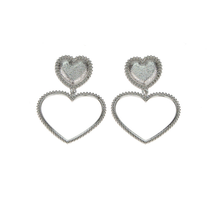 Sucker for Love Earrings - Silver