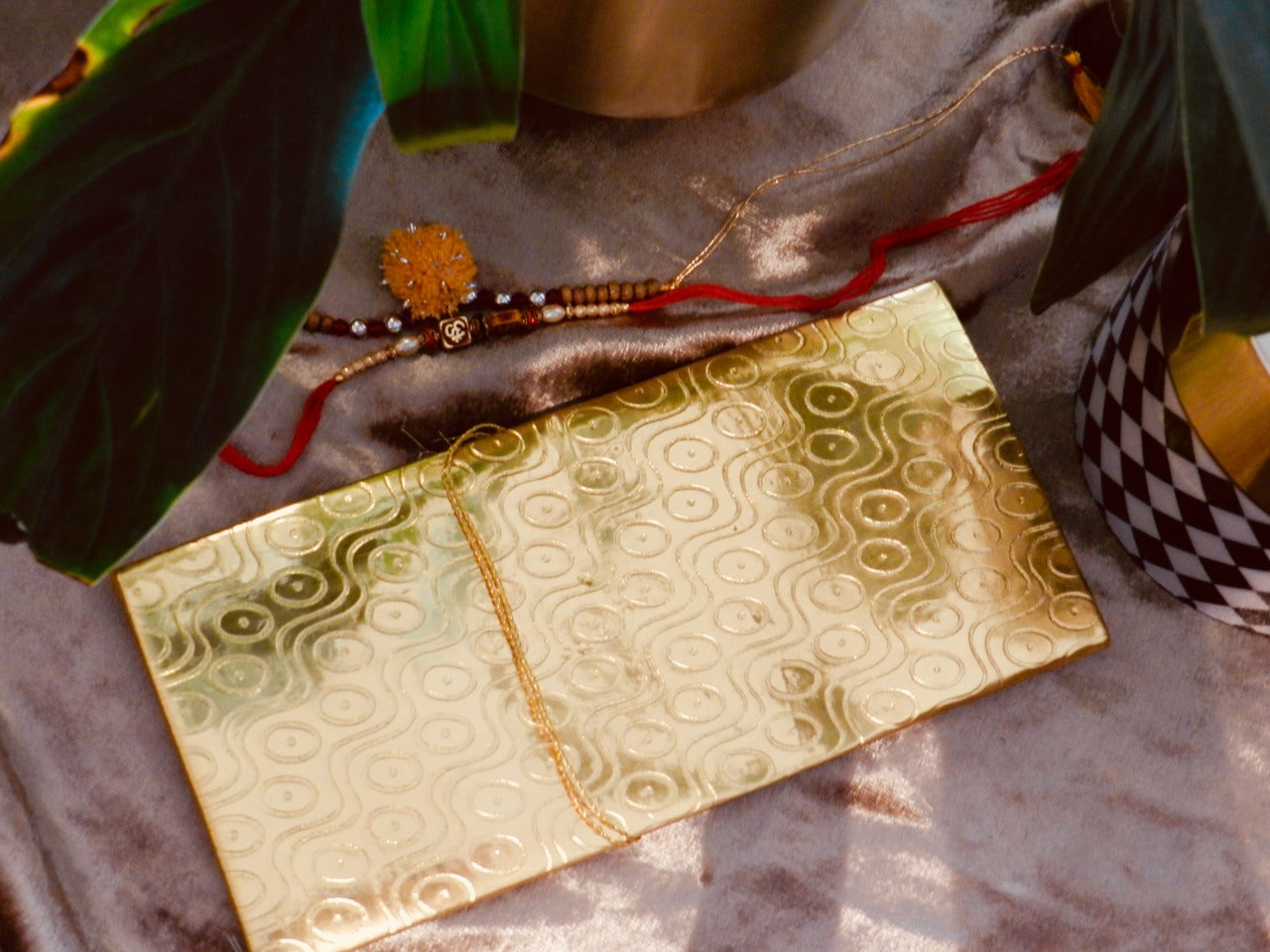 Gold Glow Envelope