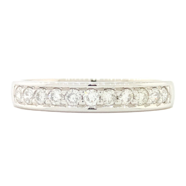 14K WG 1/3cttw Diamond Band - Walter Bauman Jewelers