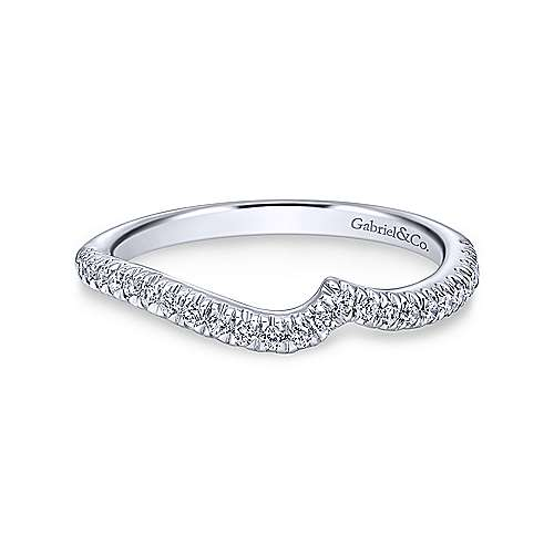 14K WG .20cttw Diamond Band - Walter Bauman Jewelers