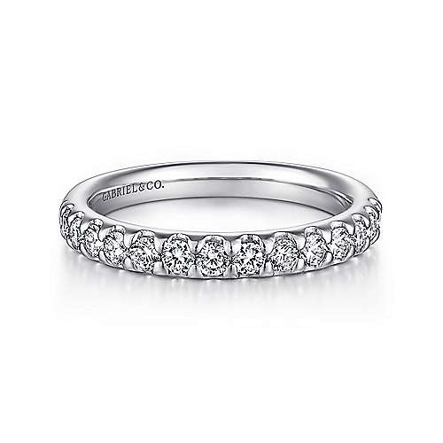 14K WG .25cttw Diamond Band - Walter Bauman Jewelers