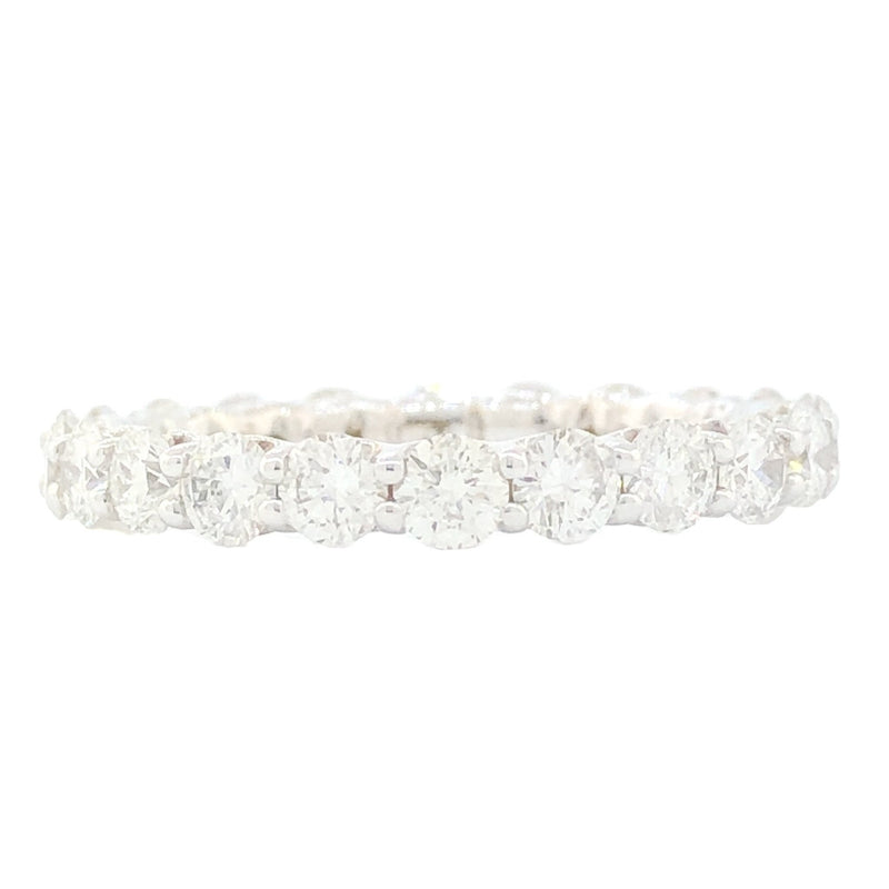 14K WG 2cttw Diamond Eternity Band - Walter Bauman Jewelers