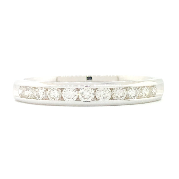 14K WG .33cttw Diamond Band - Walter Bauman Jewelers