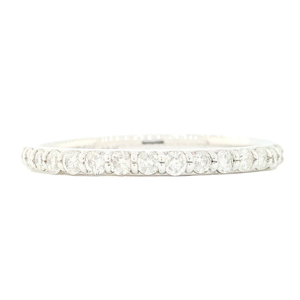 14K WG .38cttw Diamond Band - Walter Bauman Jewelers