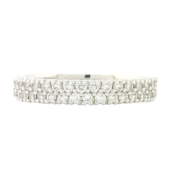 14K WG .40cttw Diamond Band - Walter Bauman Jewelers