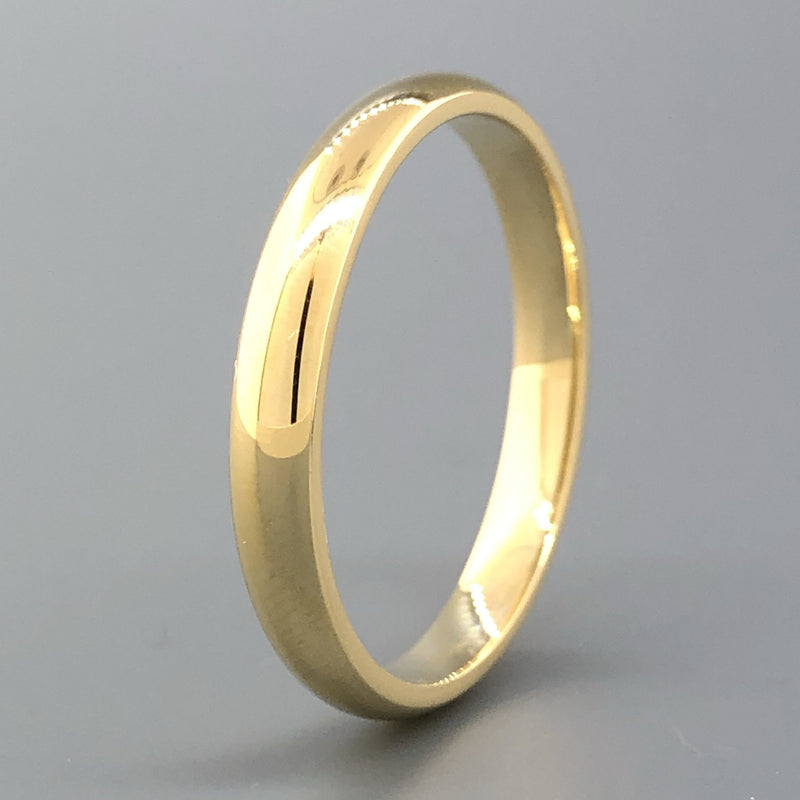 14K YG 2.9mm Plain Shiny Band - Walter Bauman Jewelers