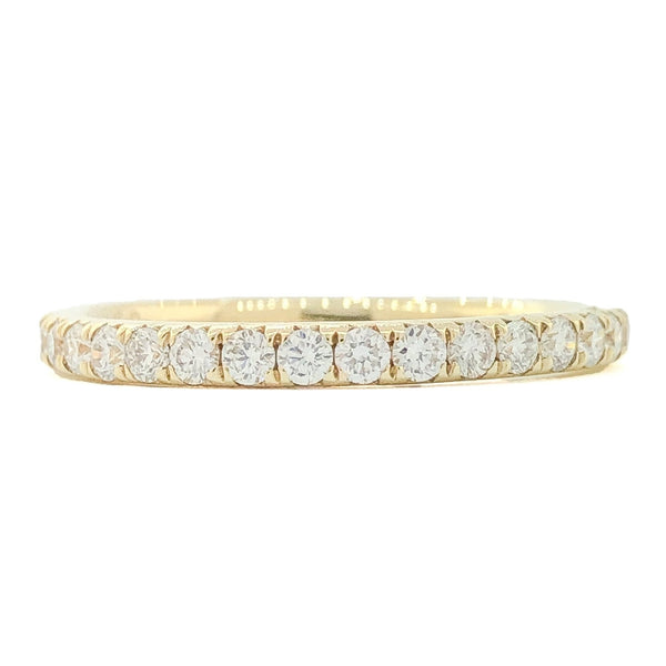 14K YG .47cttw Diamond Band - Walter Bauman Jewelers