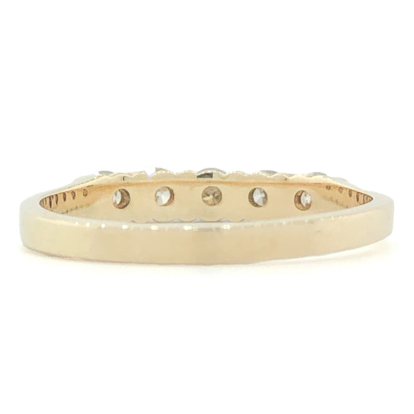 14K YG .50cttw Diamond Band - Walter Bauman Jewelers