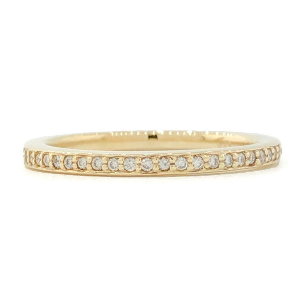 14KY .22cttw Diamond Eternity Band - Walter Bauman Jewelers