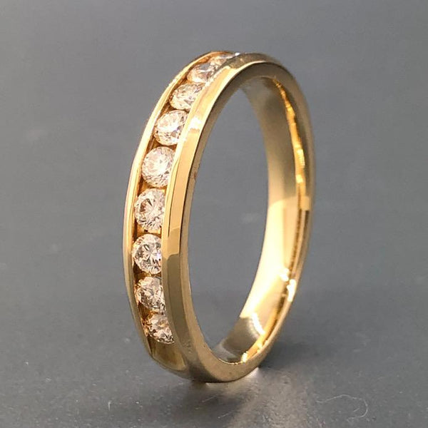 14ky Ladies 0.5cttw Diamond Band - Walter Bauman Jewelers