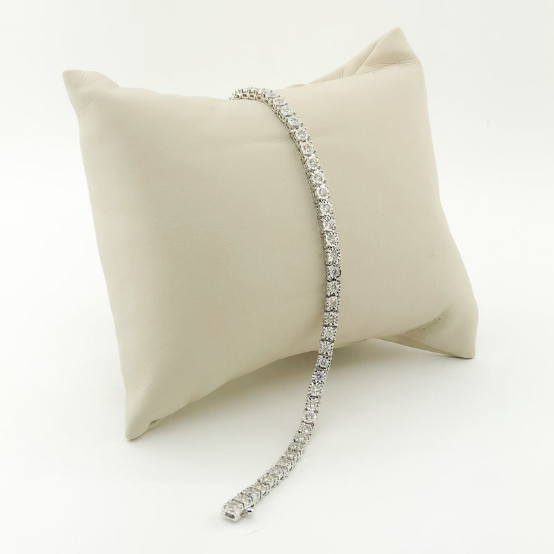 14kwg Diamond Tennis Bracelet 2cttw.