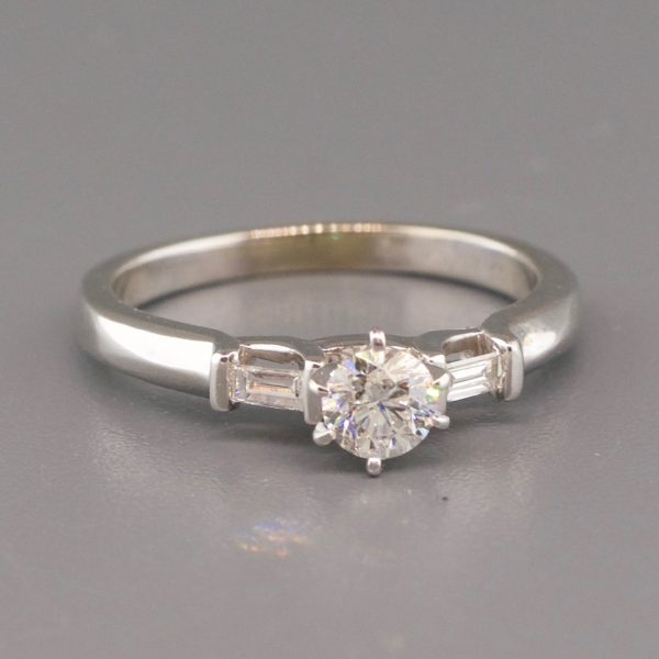 Estate 14k Diamond Engagement Ring