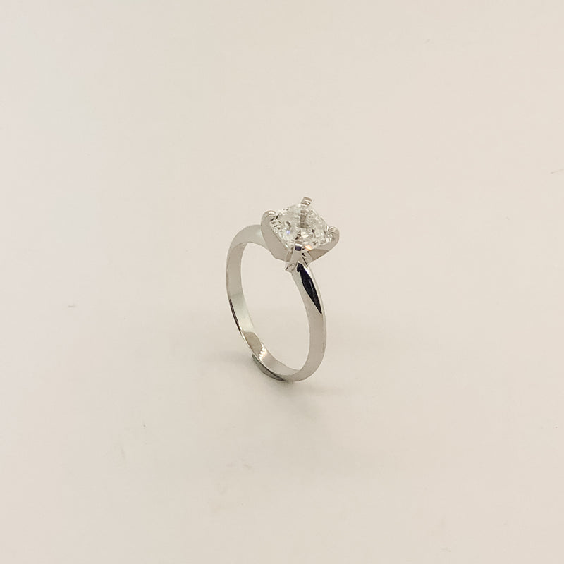 Estate 14kwg & Diamond Engagement Ring 1.80ct On Sale Now