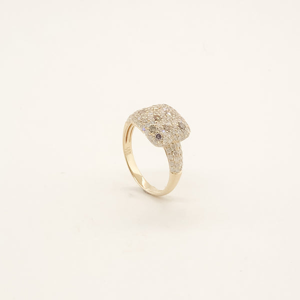 Estate 18kyg Diamond Ring