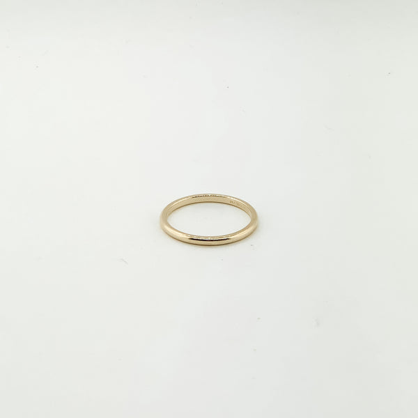 Estate Tiffany & Co. Thin Band Ring On Sale Now