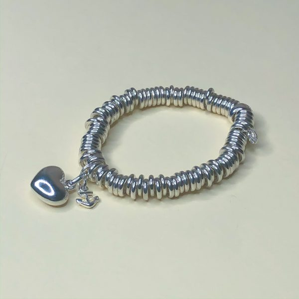 Estate Sterling Silver Links Of London Sweetie Bracelet
