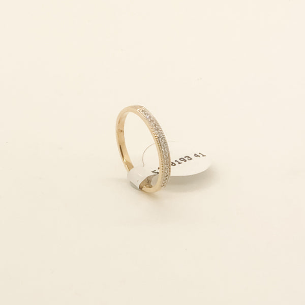 14kt & Diamond Wedding Band .10cttw On Sale Now