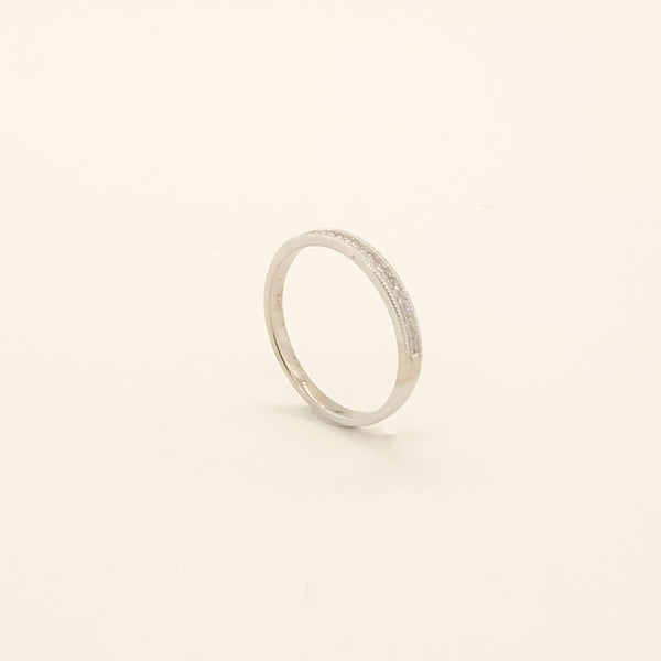 14kwg & Diamond Wedding Band 0.10cttw On Sale Now
