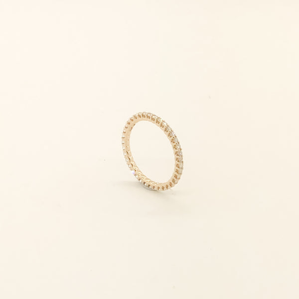 14kt & Diamond Eternity Band .50cttw On Sale Now
