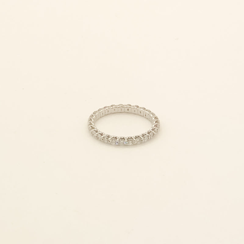 14kwg & Diamond Eternity Band 1cttw On Sale Now