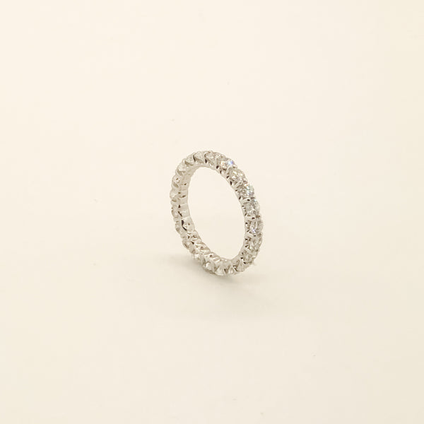14kwg & Diamond Eternity Band 2cttw On Sale Now
