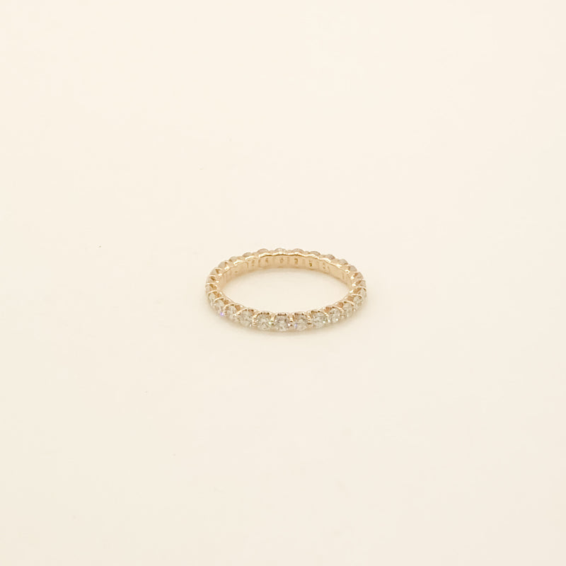 14kt & Diamond Eternity Band 1cttw On Sale Now