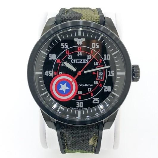 Citizen Captain America AW1367-05W Men's Eco-Drive Watch - Walter Bauman Jewelers