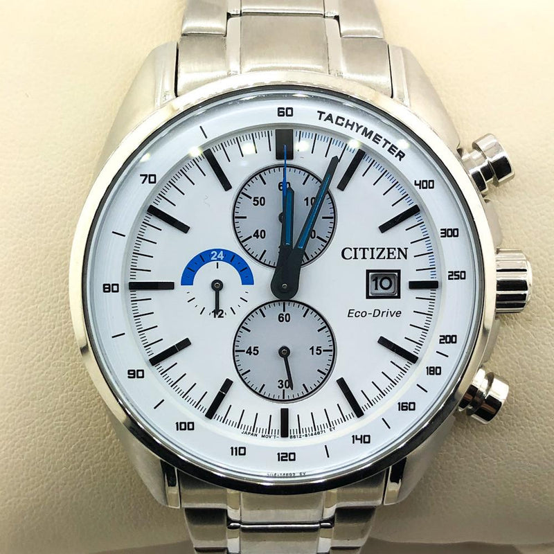 Citizen Men's HTM Collection Silvertone Stainless Steel - CA0590-82A - Walter Bauman Jewelers