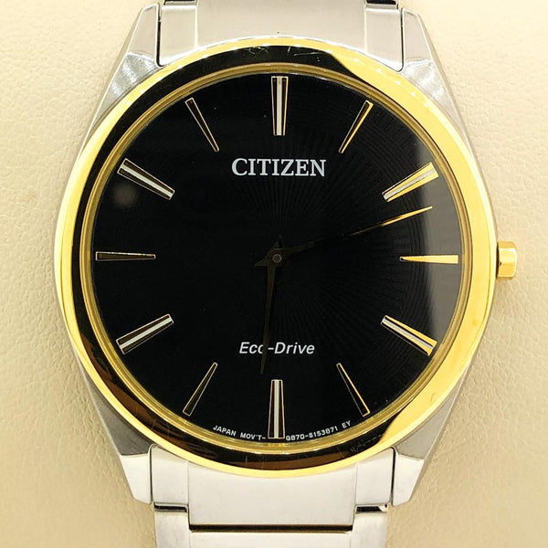 Citizen Stiletto Men's Watch AR3074-54E - Walter Bauman Jewelers