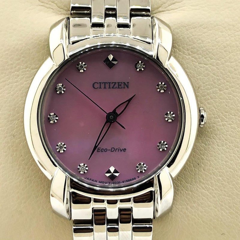 Citizen Women's Eco-Drive Jolie Watch - EM0710-54Y - Walter Bauman Jewelers