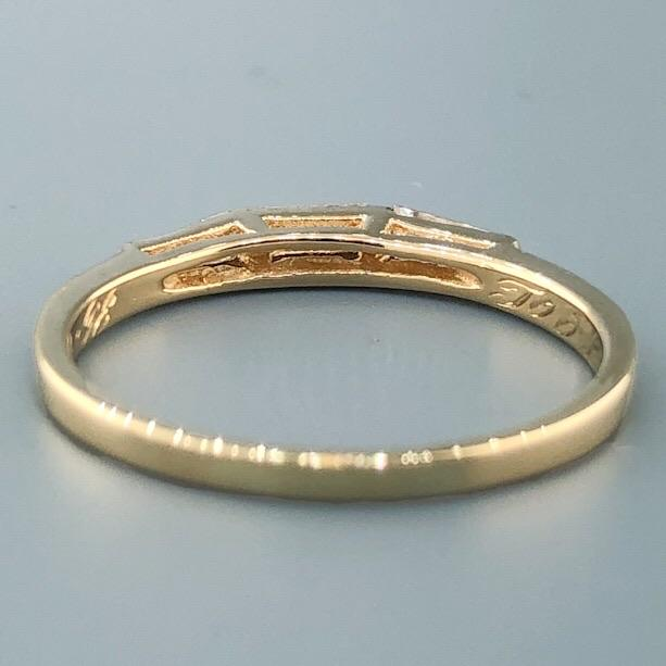 Estate 14k YG 0.24cttw Diamond Wedding Band - Walter Bauman Jewelers