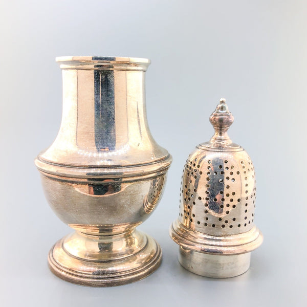Estate Antique Tiffany & Co. Acorn Salt & Pepper Shakers - Walter Bauman Jewelers