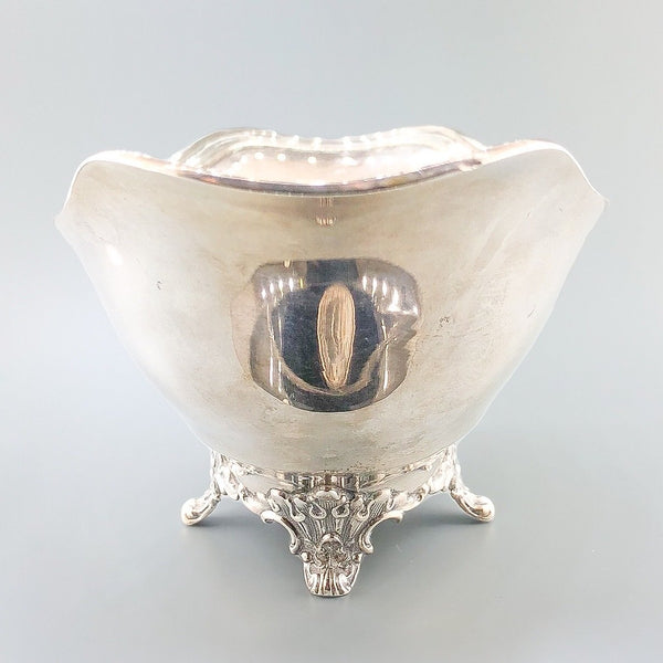 Estate Antique Tiffany & Co. Silver Footed Sauce Bowl - Walter Bauman Jewelers