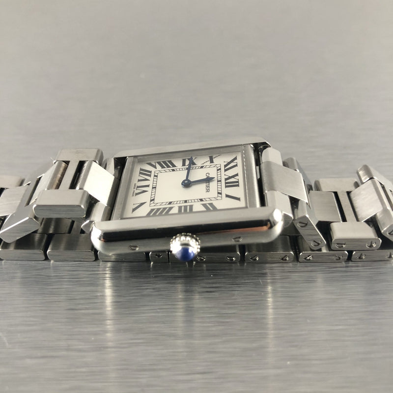 Estate Cartier Tank Solo Watch - Walter Bauman Jewelers