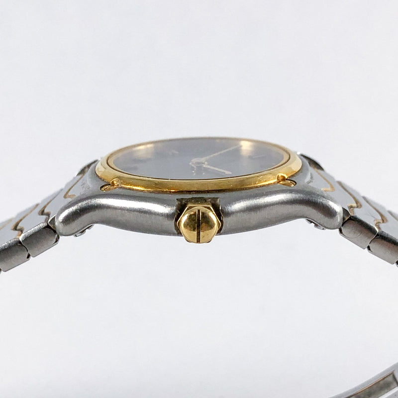 Estate Ebel Wave Two-tone Stainless Steel Watch - Walter Bauman Jewelers