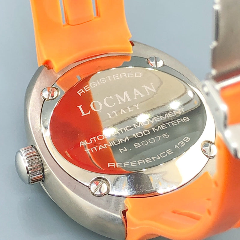 Estate Locman Mare 139 Men's Automatic Watch - Walter Bauman Jewelers