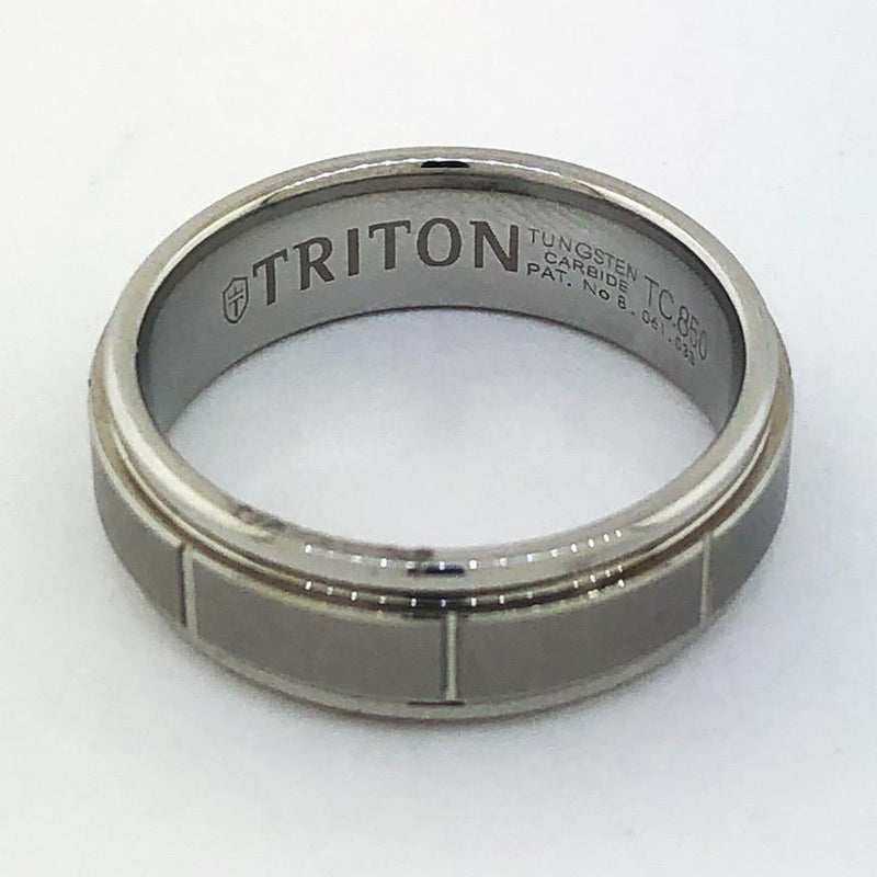Estate Men's Triton Tungsten Ring Size 9.75 - Walter Bauman Jewelers