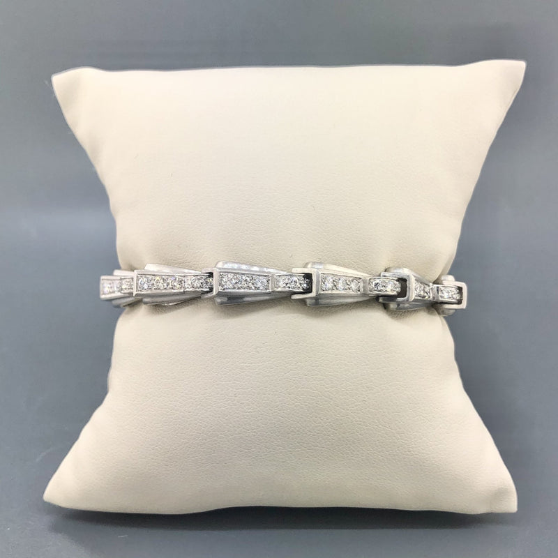 Estate Platinum 2.50cttw Diamond Bracelet - Walter Bauman Jewelers