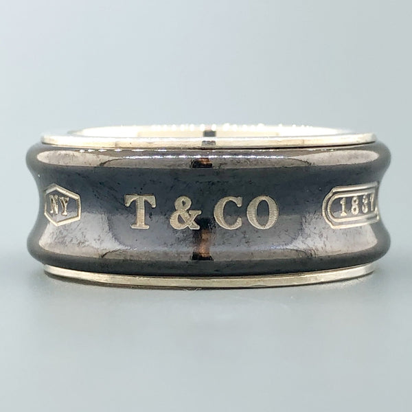"Estate Tiffany & Co. Sterling Silver ""1837"" Ring - Walter Bauman Jewelers"