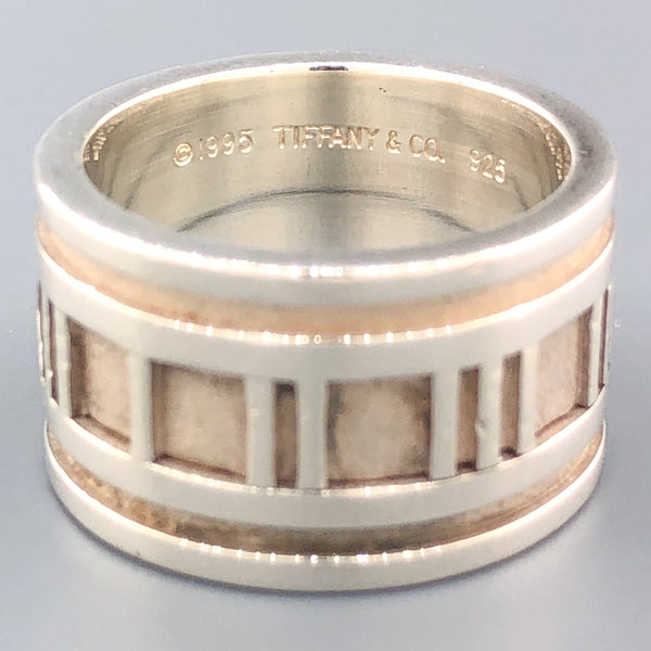 Estate Tiffany & Co. Sterling Silver Atlas Ring - Walter Bauman Jewelers
