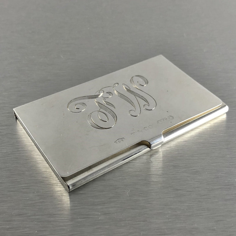 Estate Tiffany & Co. Sterling Silver Cardholder - Walter Bauman Jewelers