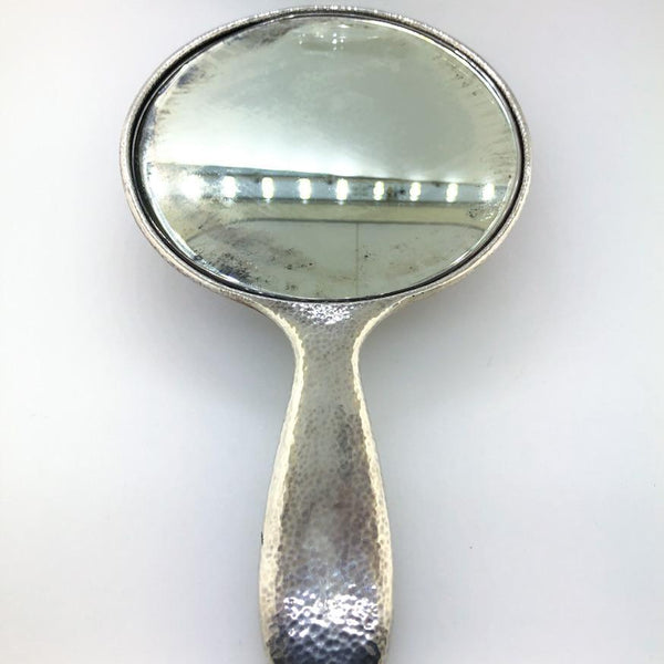 Estate Tiffany & Co. Sterling Silver Hand Mirror - Walter Bauman Jewelers